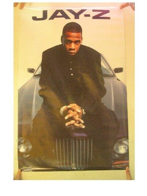 Jay-Z Poster Jay Z JayZ Him Sitting On His Ride