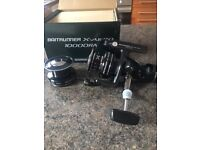 Shimano Baitrunner X-AERO 10000RA with Spare Spool - Brand New in Box!