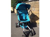 Light and compact easy fold stroller pram