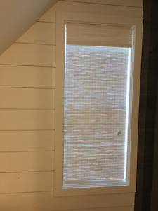 NEW woven wood blind