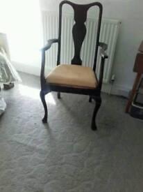 Carver chair/throne!