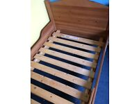 Expandable IKEA toddler bed