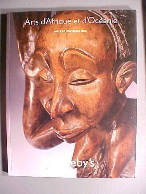 Sotheby 11/30/10 Tribal African Oceania Oceanic antique