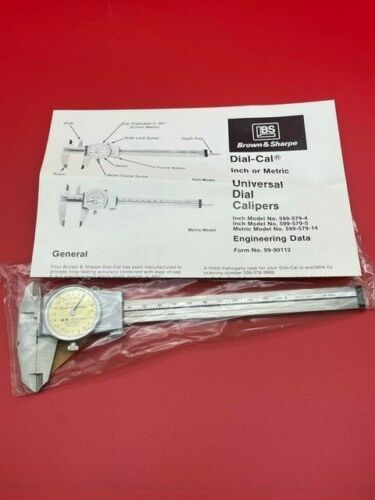 Brown and Sharpe 599-579-14 Dial Caliper 150mm IN STOCK  LAST ONE