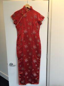 Chinese Dress from Hong Kong / Robe Chinoise de Hong Kong