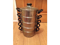 Homebase 5 tier stainless steamer for sale