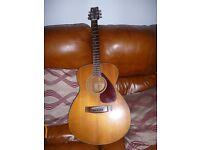 Vintage Yamaha FG-170 six string acoustic guitar full scale