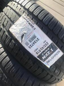 $699(TAX-IN)–NEW 255/45/R18 Kumho I-Zen KW27- BMW 5 & 6 Series/ Audi A7/ A6/ Merc S Class/ CL/ Jag XF/ Cadillac STS/ CTS