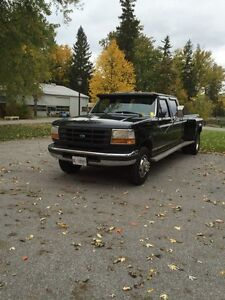 MINT CONDITION 1997 FORD F350 DUALLY 7.3 POWERSTROKE CREW CAB