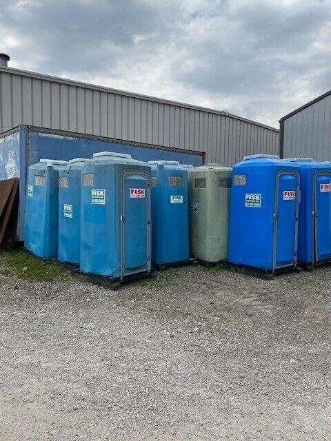 "Portable Toilet ""Tuff Jon"" The T.S.F. Co. Brand toilet Porta Potty local pickup"