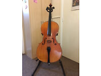 Full Size (4/4) Cello, Suitable for Student