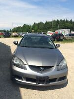 2006 Acura Rsx 5speed Manual, Leather Seats Certified $6,495+Tax