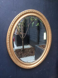 Stunning gold mirror