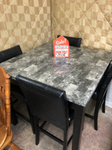 OVER 20 SOLID WOOD DINING ROOM SETS AVAILABE; PRICED $99 TO $499