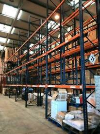 Wharehouse pallet racking, large quantity