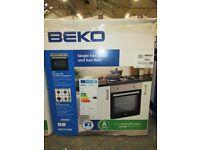 BEKO SINGLE FAN OVEN & GAS HOB / Selling in B&Q still for £228