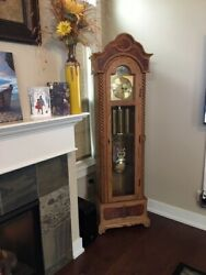 Grandmother Floor Clock-Hand crafted from the Amana Colonies, Amana, IA.