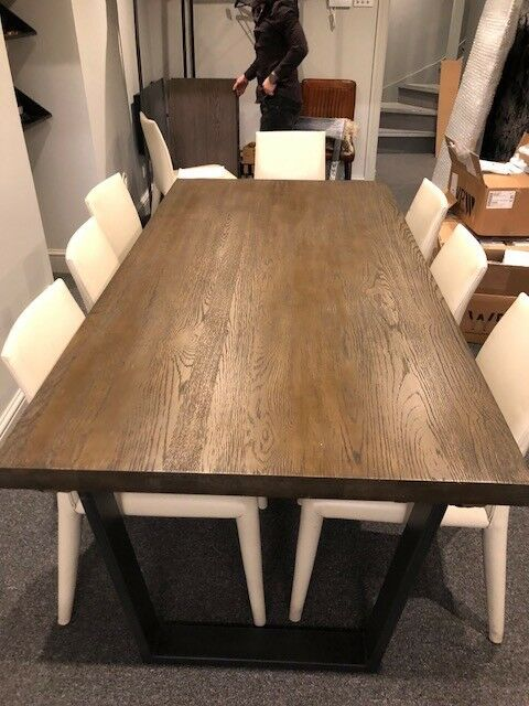 Second Hand John Lewis Calia 8 12 Seater Extending Dining