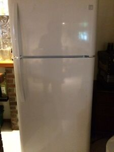 Four year old refrigerator