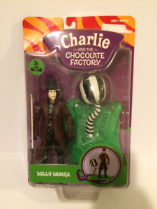 WILLY WONKA ACTION FIGURE VERY RARE