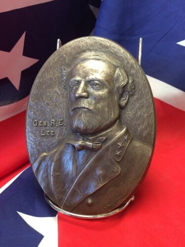 Gen. Robert E. Lee – Plaque in Bonded Bronze