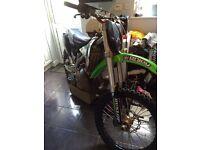 KX 250 2 stroke £2100