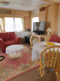 Retreat cosy caravan in chapel st Leonards.