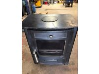 multi fuel wood burning stove hot water