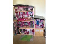 Wooden Barbie House for Sale - Kidkraft