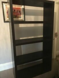 Ikea Black Shelves
