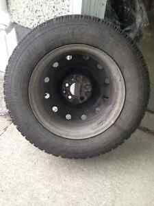 4 GOODYEAR Nordic Winter Tires With Rims. 215/65R16 98S