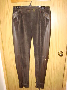 Two pairs of Ladies Danier leather pants $100 each
