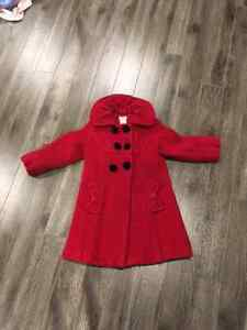 Girls Dress Coat