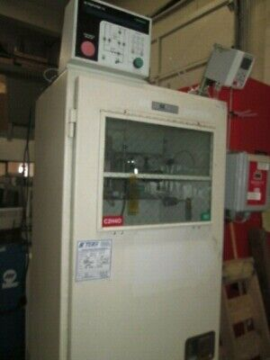 Used Praxair Two Bottle Gas Cabinet W Ultrapurge Up100 Controller