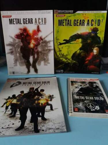 Metal gear pack guide strategiche giochi PSP