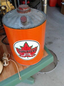 Supertest Gas Can ( Refinished and decaled)