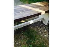 Long Handmade Bench