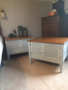 Pair of End Tables ($150/pair)