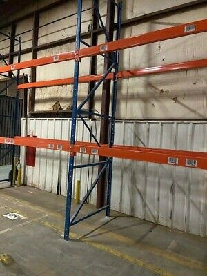 Structural Pallet Racking Package - Includes 54 X 16