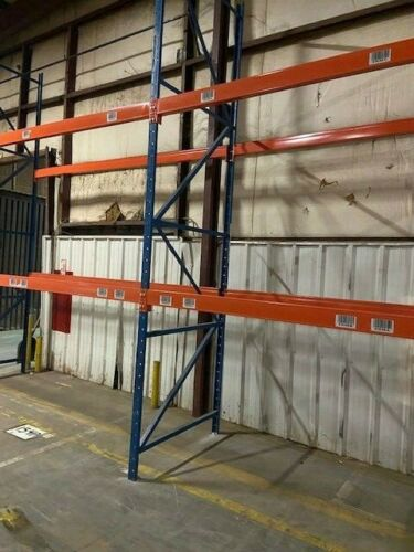 """Structural Pallet Racking Package - Includes 54"""" X 16"""