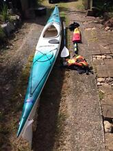 Sea Kayak - Mirage 580 with 1.5m Pacific action sail, and paddle Mount Nebo Brisbane North West Preview