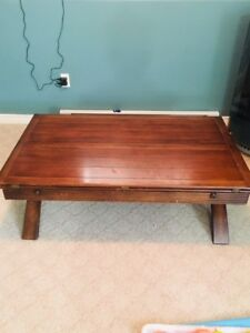 Coffee/gaming table and end table
