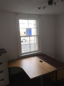 Self-contained office in Leith - with 3 separate rooms