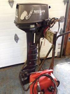 Nissan Outboard Motor, 9.8 HP