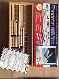 Arithmasticks - great box of fun tools to learn maths key stages 1 and 2