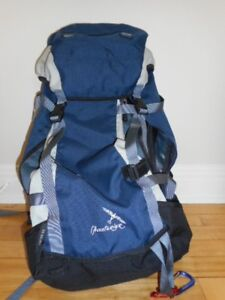 Sac à dos randonnée pour femme et housse sac de couchage