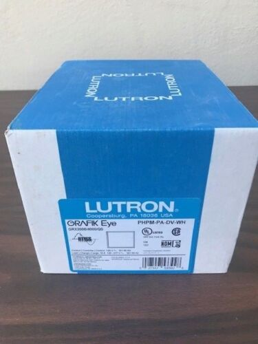 Lutron PHPM-PA-DV-WH Phase-Adapter Power Modue / Lutron PHPM-PA-120-WH