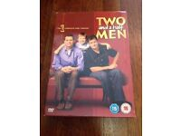 EXC *TWO AND A HALF MEN* DVD Boxset Complete 1st Season 24 Episodes On 4 Discs