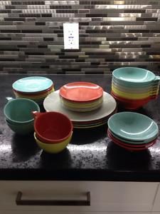 Set de vaisselle incassable pour camping