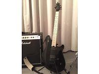EVH Wolfgang WG Standard black guitar